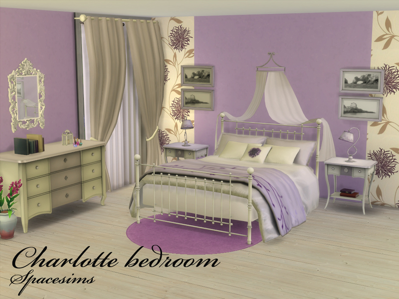 Charlotte bedroom BY spacesims