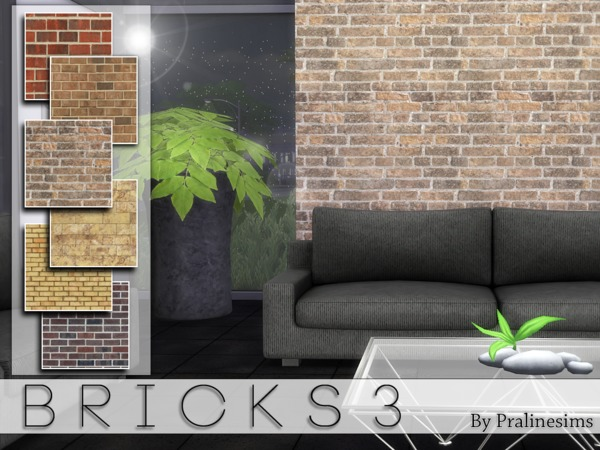 Bricks 3 by Pralinesims