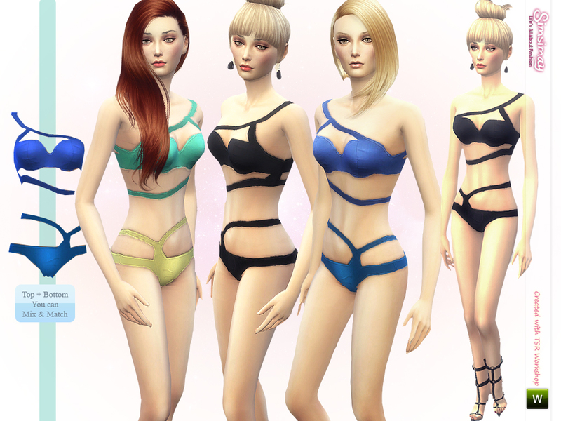 Always in Style Swimwear Set BY Simsimay