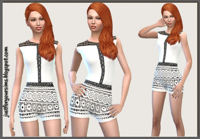 Crochet Playsuit от Gaby Wimmer