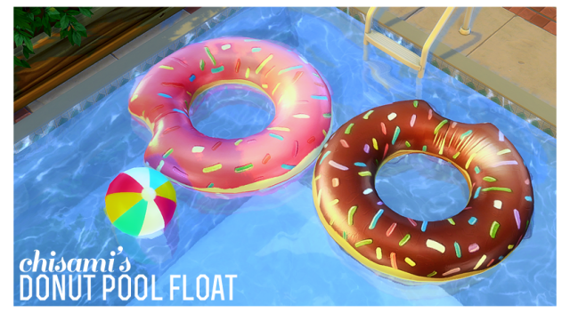 Donut Pool Floats by Chisami