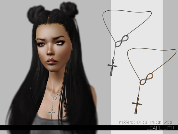 LeahLilith Missing Piece Necklace by Leah Lillith