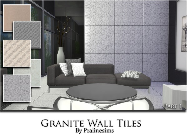 Granite Wall Tiles by Pralinesims