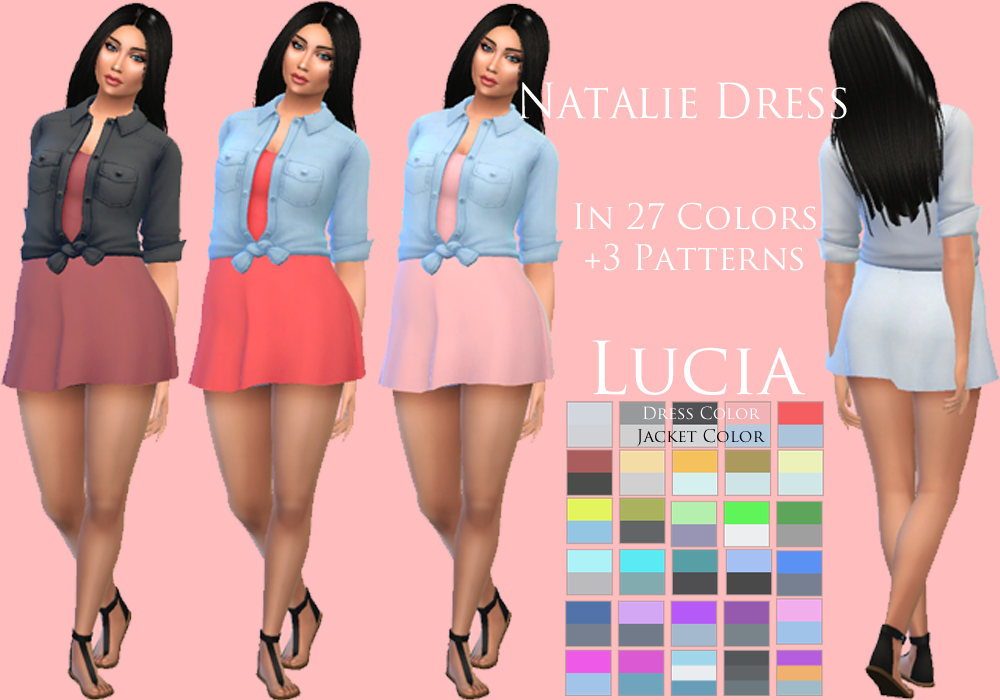 Natalie Dress By Lucia