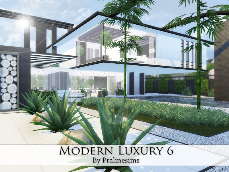 Modern Luxury 6 BY Pralinesims