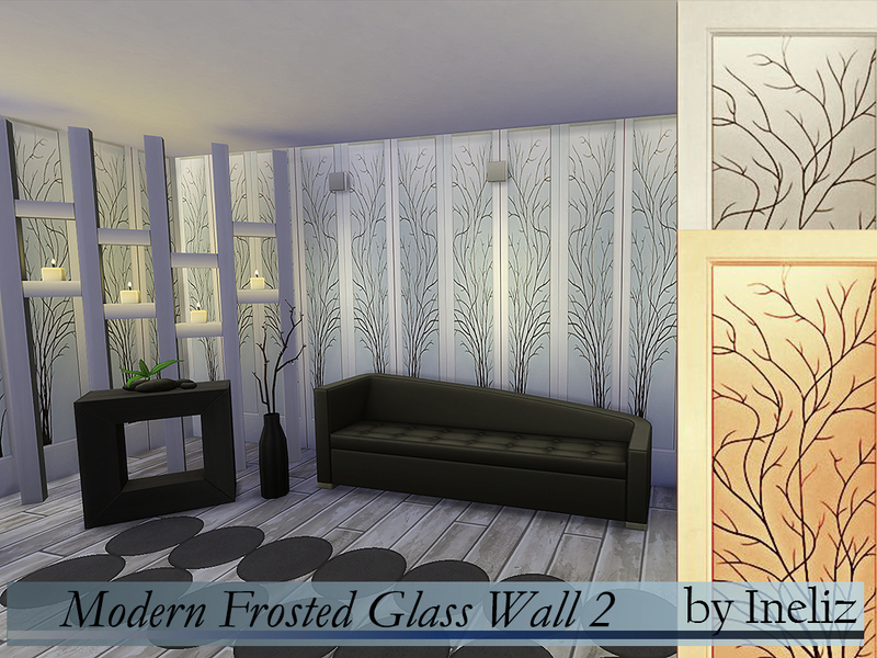 Modern Frosted Glass Wall 2 BY Ineliz
