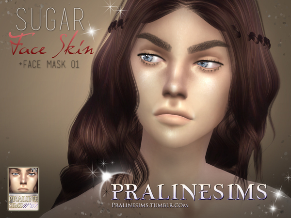All About The Face~ Skin Detail Collection by Pralinesims