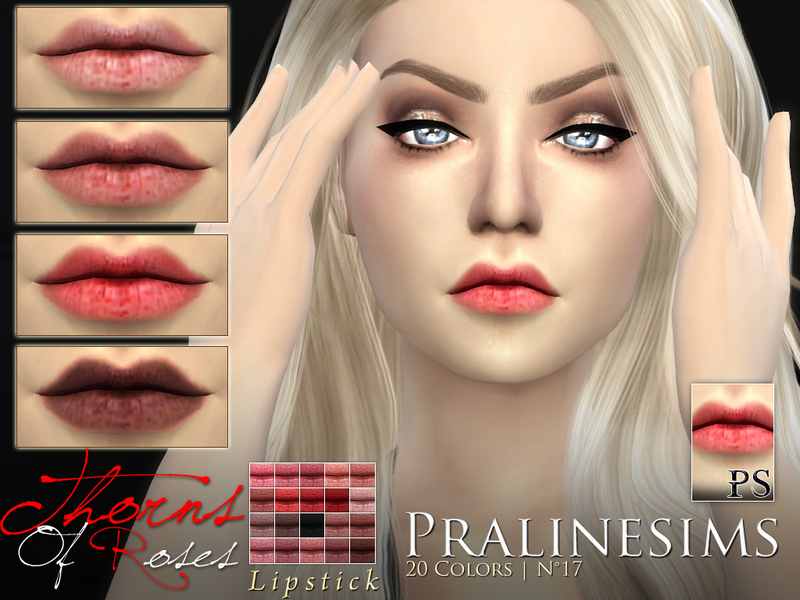 'Thorns of Roses'~ Lipstick Duo BY Pralinesims