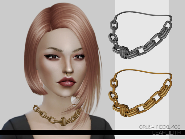 LeahLilith Crush Necklace by Leah Lillith
