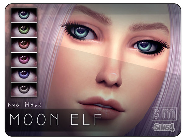 [ Moon Elf ] - Eye Mask by Screaming Mustard