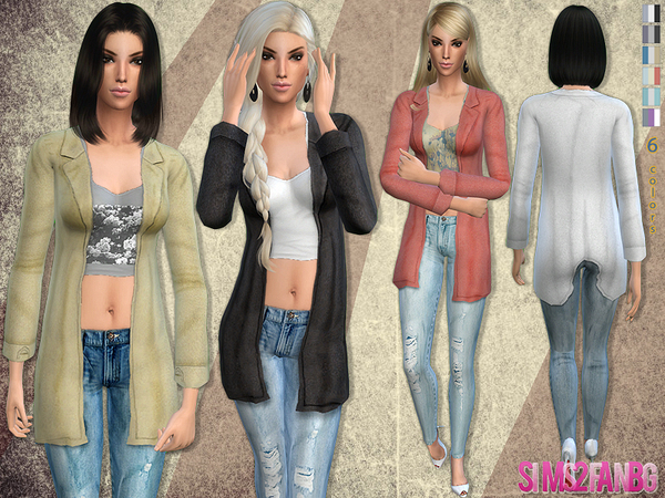 57 - Casual outfit by sims2fanbg