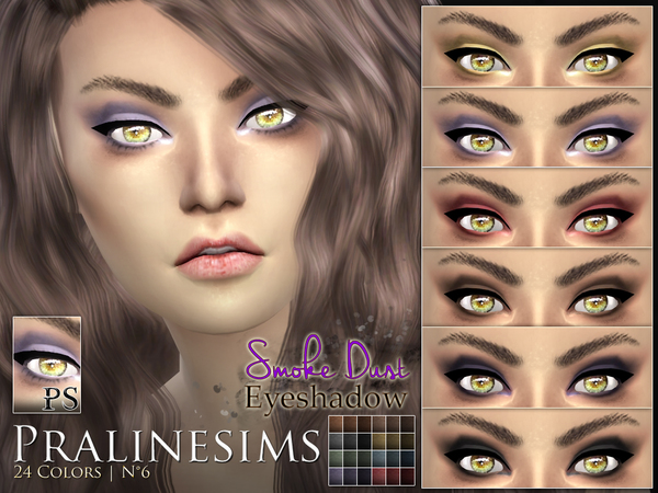 Smoke Dust Eyeshadow by Pralinesims