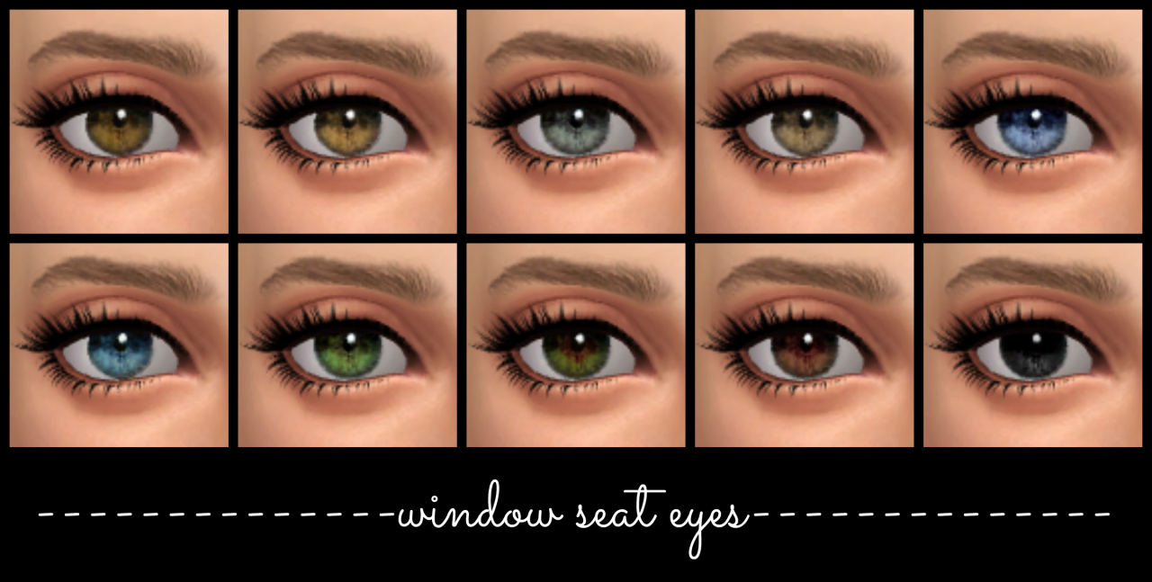 TS2 Mouseyblue Superstition Eyes by LullabySims