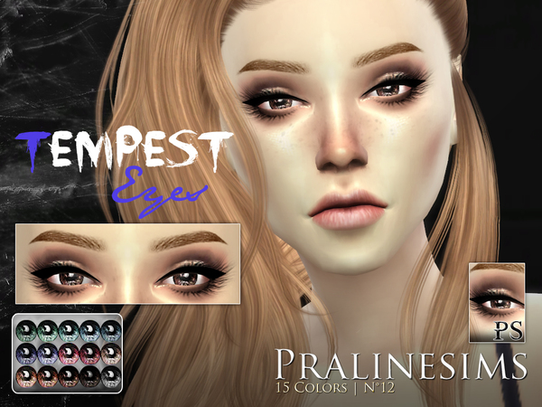 Tempest Eyes by Pralinesims