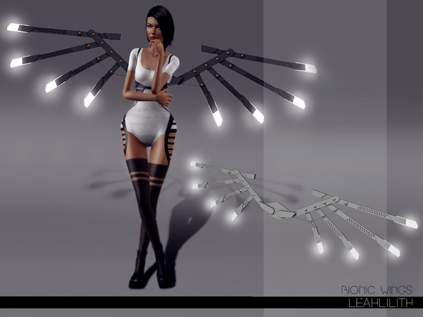 LeahLilith Bionic Wings by Leah Lillith