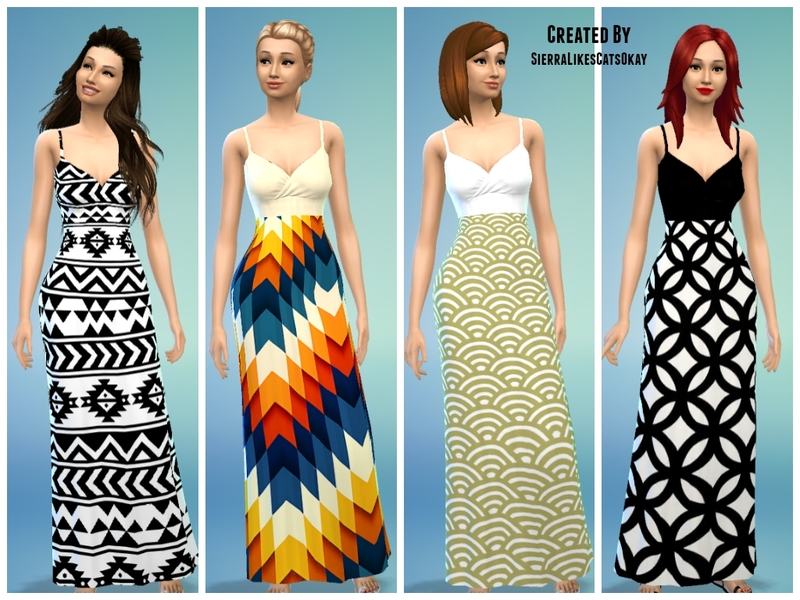 Тhe Maxi Collection: 1 (Female) BY sierralikescatsokay