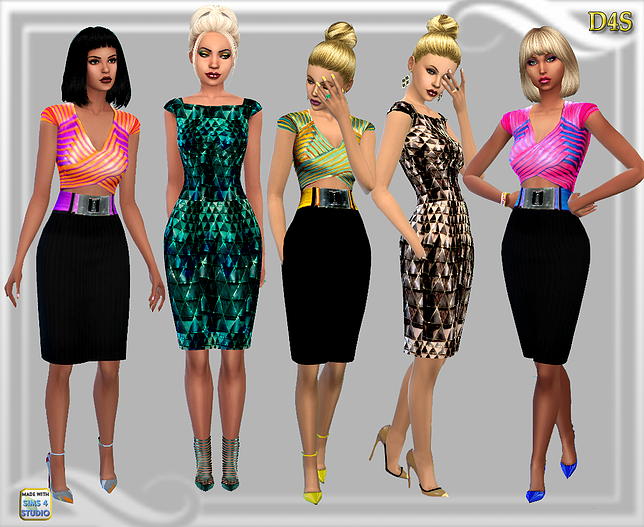Dresses by Dreaming4Sims