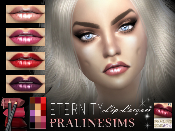 'Eternity' Lip Lacquer by Pralinesims