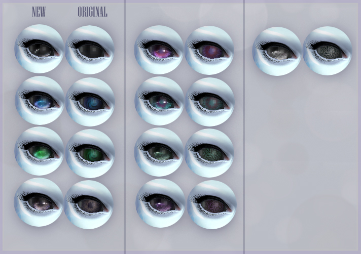 Alien Eyes Overhaul (Replacements and Contacts) by kellyhb5