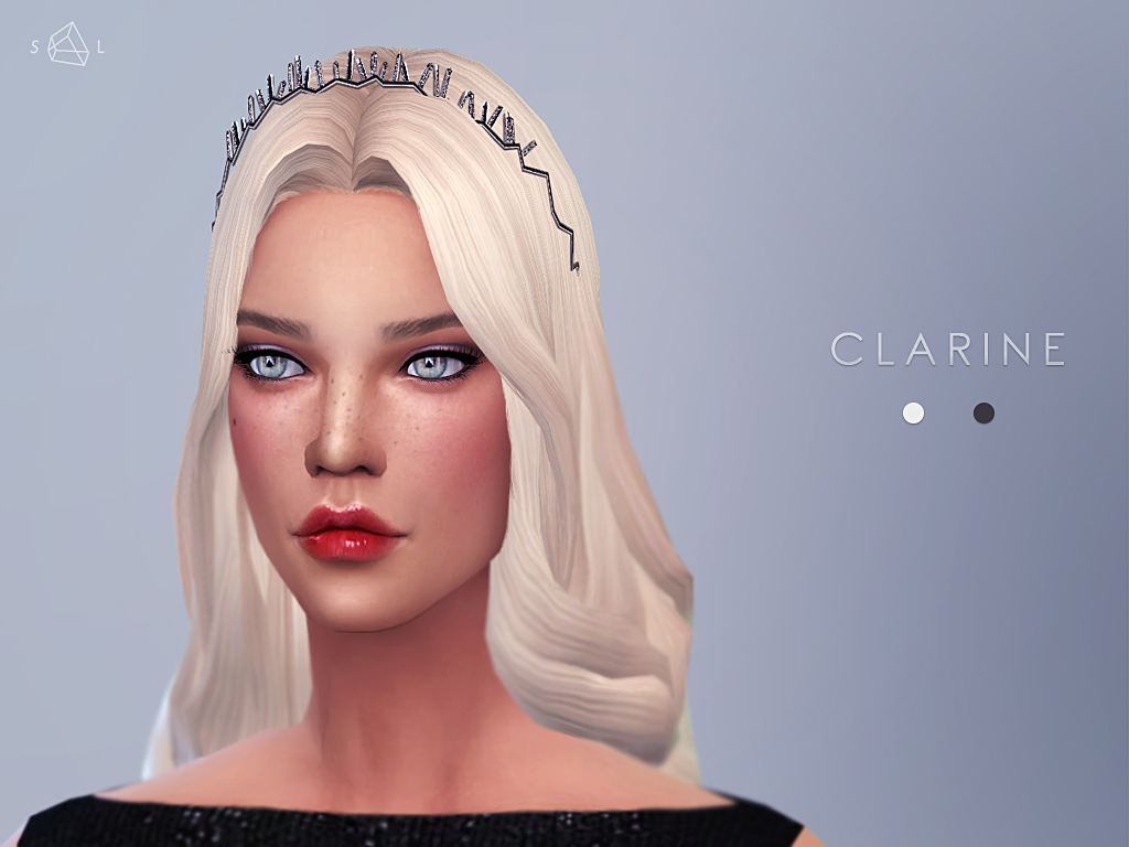 Silver Diamond Headband CLARINE by starlord