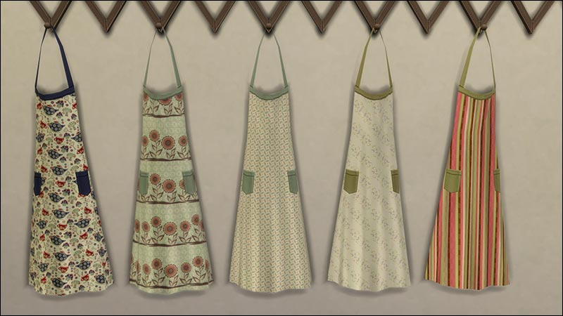 TS3 Store Kitchen Clutter Conversions by Purzel