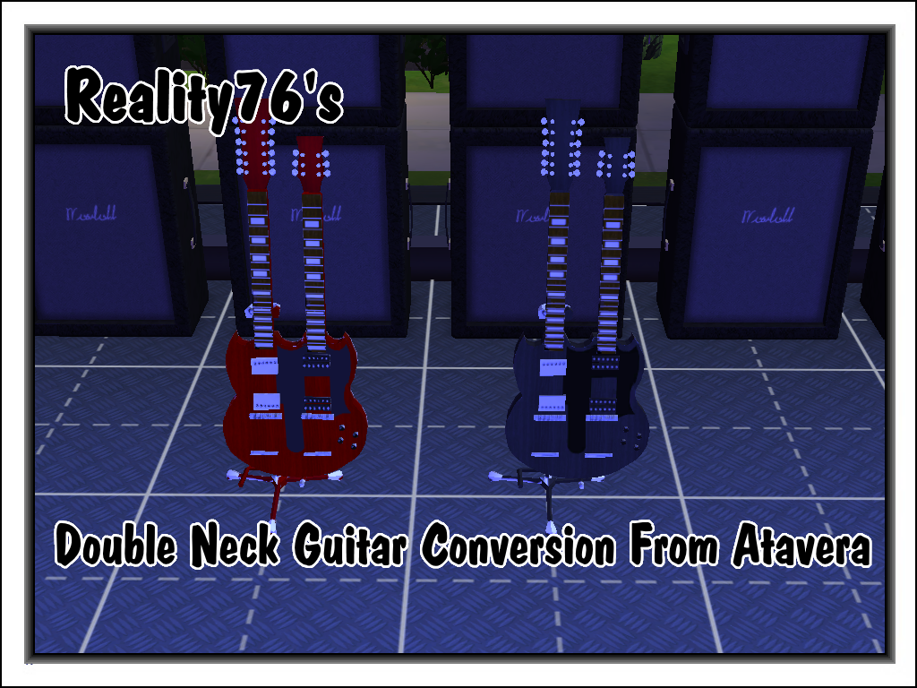 DoubleNeck Guitar by Reality76