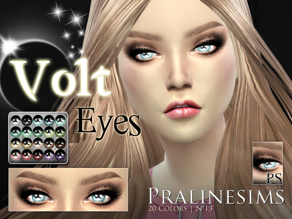 Volt Eyes by Pralinesims