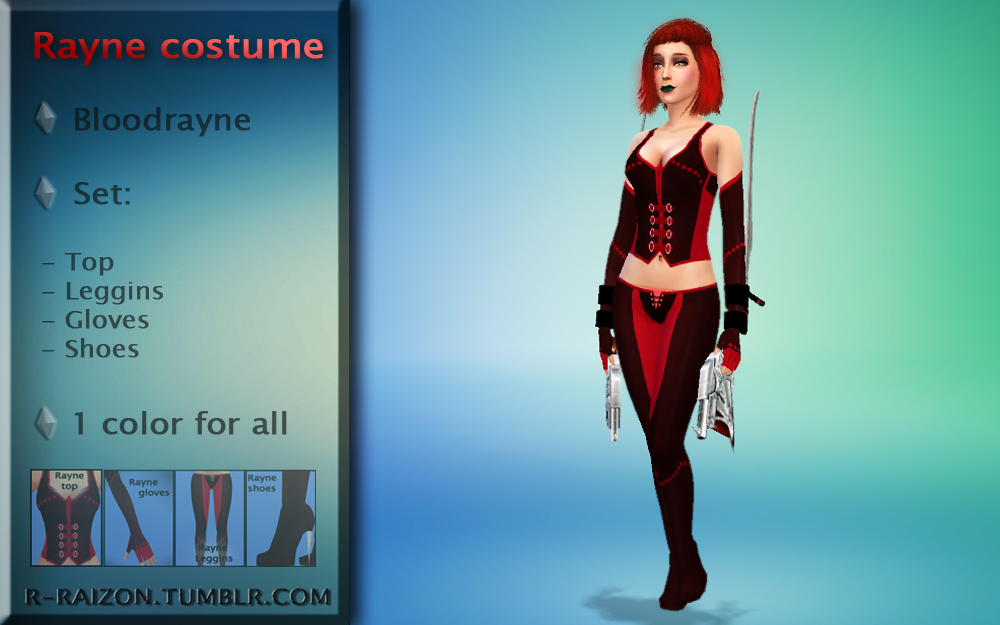 Униформа из Bloodrayne Rayne by Raizon