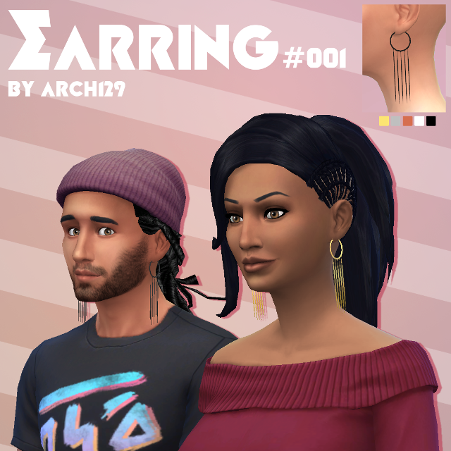 Earring #001 by arch129