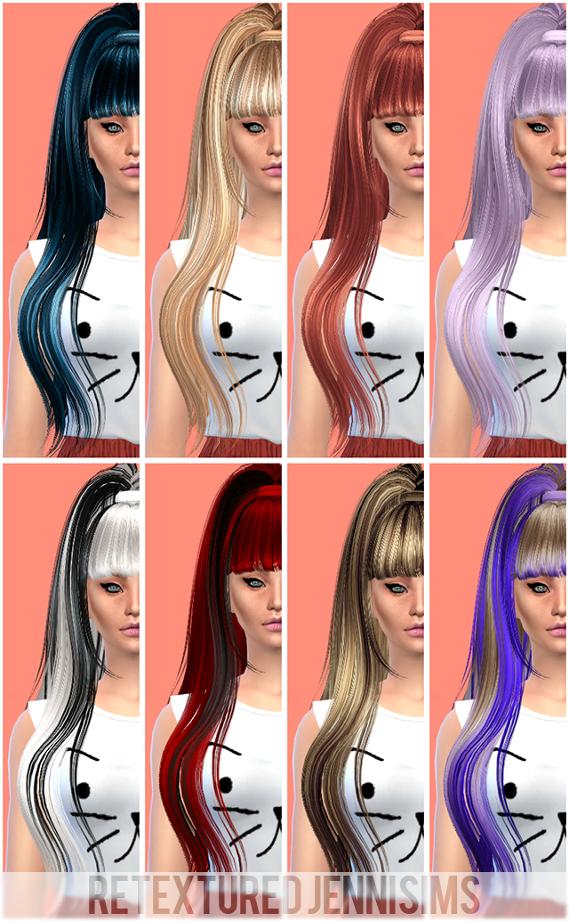 Butterflysims 029 Hair retextured by Jenni Sims