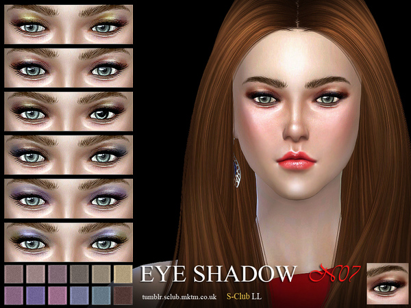 S-Club LL ts4 eyeshadow 07