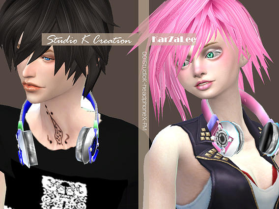Headphone - X for female and male by Karzalee