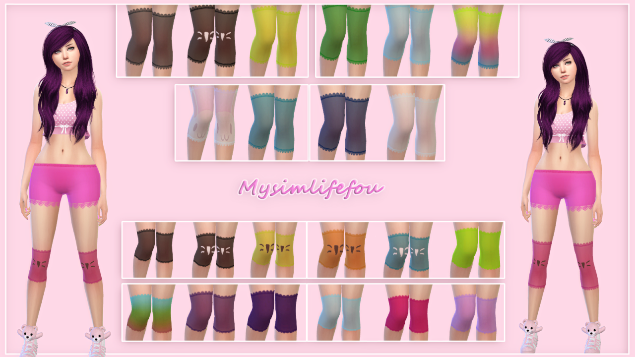 Over The Knee Socks by Mysimlifefou