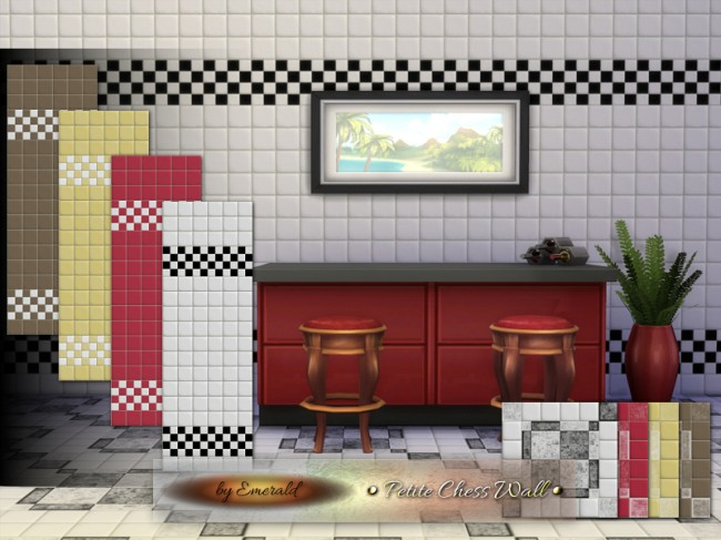 Petite Chess Wall by emerald