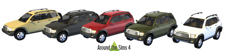 Community Lot: Decorative Vehicles, Parking Meter and Parking Space by Sandy