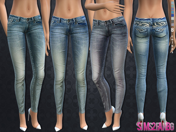 60 - Skinny jeans by sims2fanbg