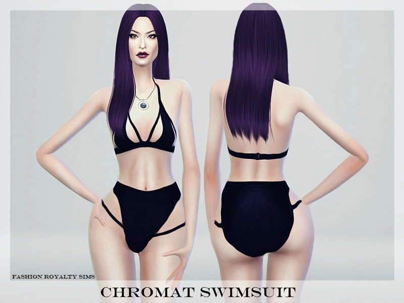 Chromat Swimsuit BY FashionRoyaltySims