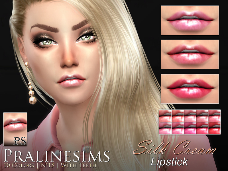 Silk Cream Lipstick Duo  BY Pralinesims