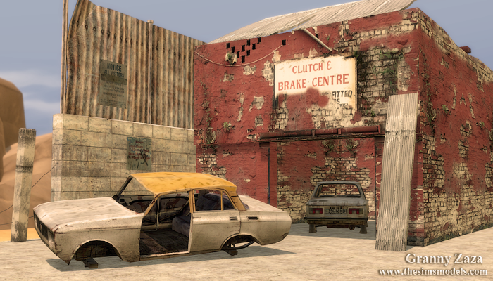 Old cars (part 2) for TS4 by Granny Zaza