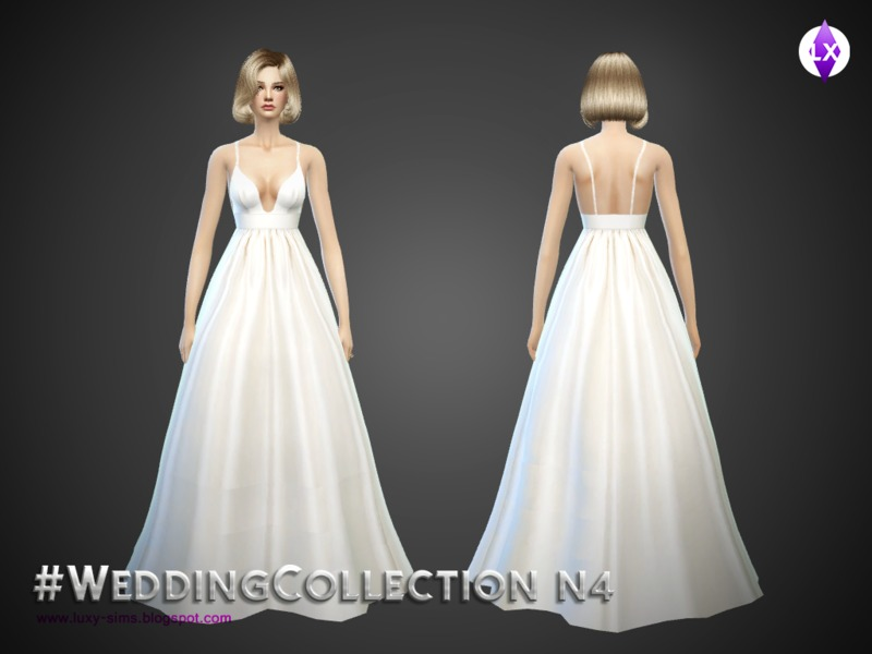 Wedding Collection N4 by LuxurySims