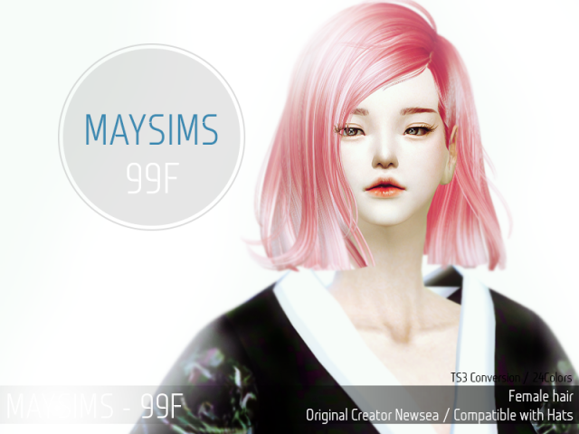 Hair 99 Female от MaySims