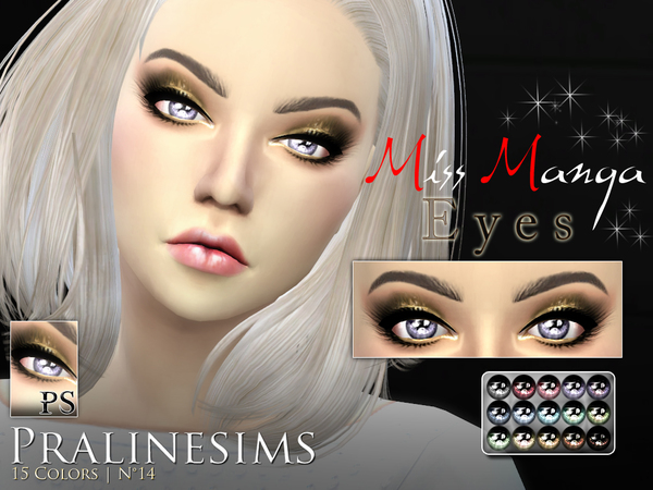 Miss Manga Eyes by Pralinesims