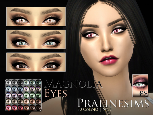 Magnolia Eyes by Pralinesims
