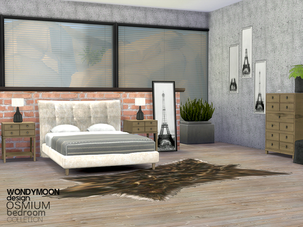Osmium Bedroom by wondymoon
