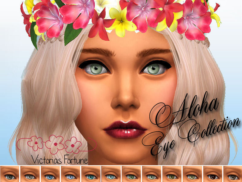 Victorias Fortune Aloha Eye Collection BY fortunecookie1