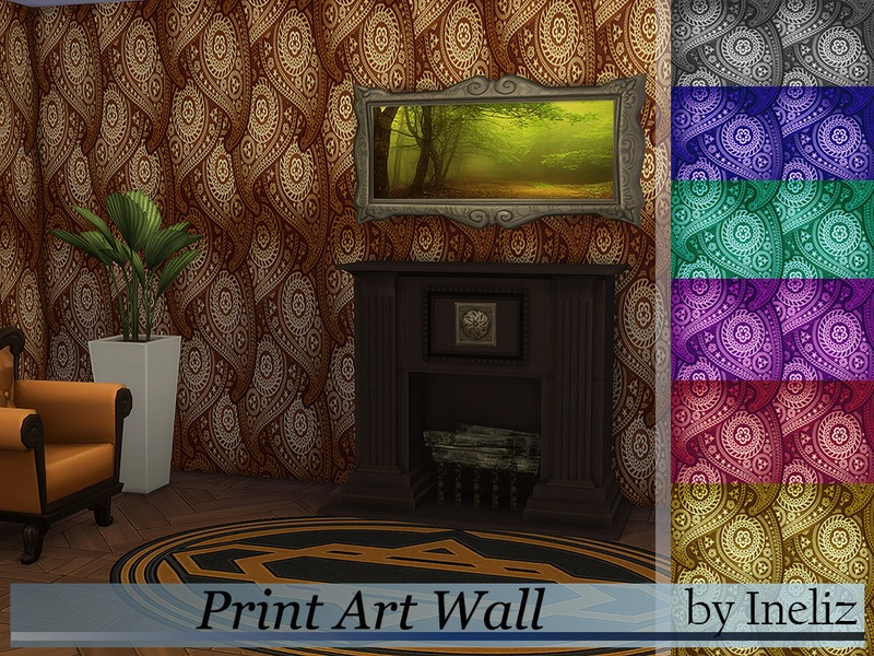 Print Art Wall  BY Ineliz