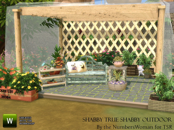 Shabby Chic Living True Shabby Outdoor by TheNumbersWoman