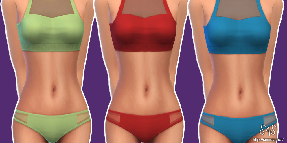 Alyssa Bikini Set for Teen - Elder Females by Simista
