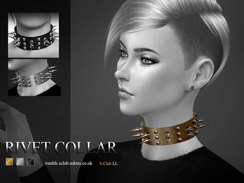 S-Club LL ts4 Rivet collarF&M)