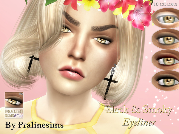 Sleek & Smoky Eyeliner by Pralinesims